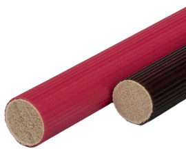 Coated Wooden Dowel Rods
