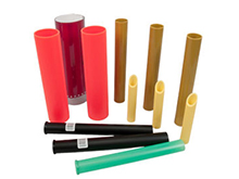 Plastic Golf Tubes & Sporting Goods