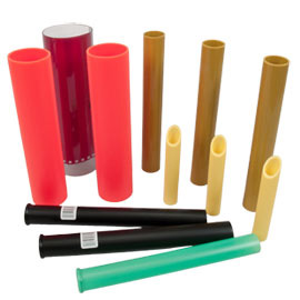 Variety of Sporting Goods Tubes